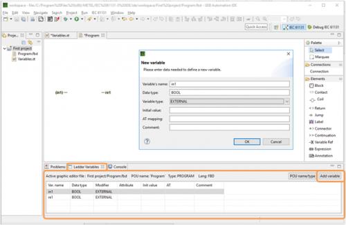 METEL IEC 61131-3 IDE Getting Started - IPLOG